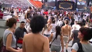 Mi ingreso al show de los Stones en La Plata, 13/2/16