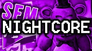 "Nightcore ► (SFM) FNAF SONG ""Turn Back"" (Remastered) feat. Chi-Chi [Official Animation]"