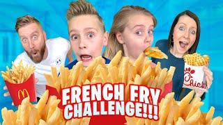French Fry Challenge!!! (Family RACE Battle) / K-City Family