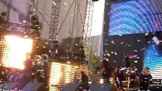 OV7 en el concierto de las 40 Principales en la Av. Reforma