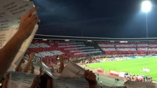 "45000 Delije fans singing ""Pukni zoro"" @ Zvezda Ludogorec match, best fans in the world"