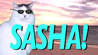 HAPPY BIRTHDAY SASHA! - EPIC CAT Happy Birthday Song