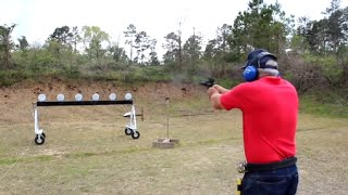 World's Fastest Handgun Shooter - 2014 World Record Gun Shooting Championship