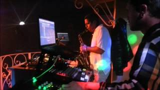 ELECTRO HOUSE LIVE TRUMPET AND SAX, David Strike & Claudio Álvarez