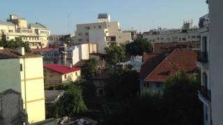 a view at r hotel in romania Bucharest aarons vlog