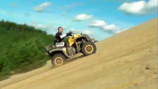 Modded Renegade XXC climbing dunes