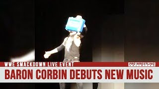 Baron Corbin Debuts New Theme Music At Live Event (VIDEO)