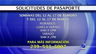El condado Lee anuncia horarios extendidos para renovación de pasaportes americanos