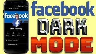 How to get facebook messenger dark night mode videos / Page