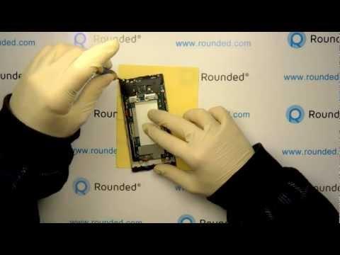 HTC Windows Phone 8X Repair, Disassembly manual, guide