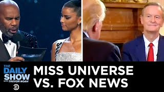 Miss Universe vs. Fox News   The Daily Show