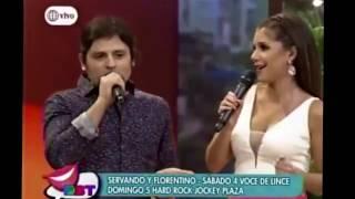 Yahaira Plasencia cantando junto a Servando❤️