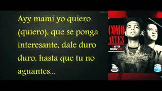 EL MAYOR CLASICO FT. SHADOW BLOW - COMO ANTES [LETRAS].mp4