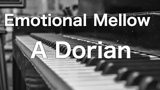 Emotional Mellow Piano Backing Track in A Dorian (for rainy days)
