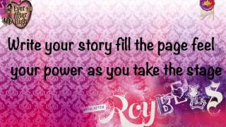 Ever After High Epic Winter Song Live Your Dream (lyrics)