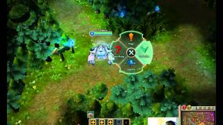 New LoL Radial Ping Menu System - League of Legends Ping Radial Preview