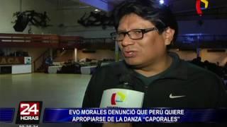 Perú y Bolivia discuten el origen de la danza 'Caporales'