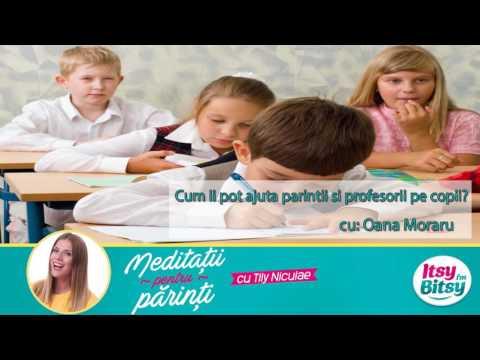 Cum ii pot ajuta parintii si profesorii pe copii?