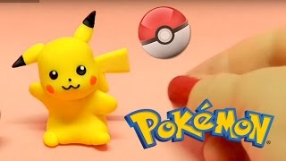 DIY - Pikachu POKEMON - Tutorial em Biscuit
