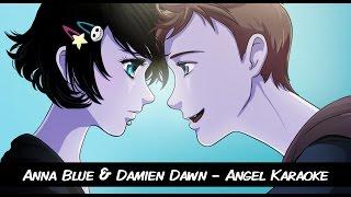 Anna Blue & Damien Dawn - Angel (Official Karaoke Music Video)