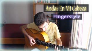 Andas En Mi Cabeza - Chino y Nacho ft. Daddy Yankee - Fingerstyle Guitar Cover
