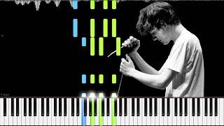 Bo Burnham (Karaoke) // Kill Yourself   LyricWulf Piano Tutorial on Synthesia