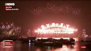 Queima de Fogos Mais Bela do Mundo no Ano Novo 2017