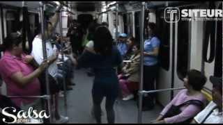 """""""Salsa sobre Rieles"""" en el Tren Ligero de Guadalara"""