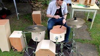ATON Cajon Drumset @TusciaDrums2016