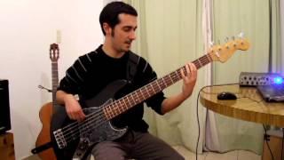 Mariposa Tecknicolor - Fito Paez - Bass cover Por Pablo Ielasi