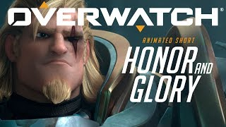 "Overwatch Animated Short | ""Honor and Glory"" width="