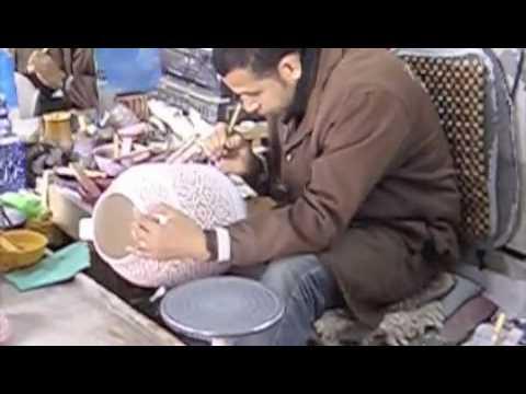 Ceramics fabrication process in Fez, Morocco