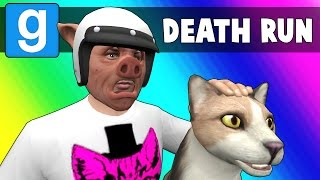 Gmod Deathrun Funny Moments - CAT FIGHT! (Garry's Mod)