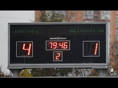 «Спартак-2» — «Металлург» (Липецк) — 4:1. Обзор матча.