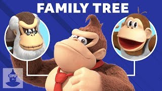 Donkey Kong Family Tree - The History Of The Kongs! | The Leaderboard