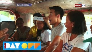 Day Off: Pinoy Henyo with sampaguita vendors