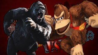 King Kong Vs Donkey Kong l UltraCombates De Rap Legendario l AdriRoSan ft. DandenRap