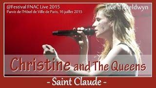 Christine and The Queens - Saint Claude - @FNAC Live, Paris - 16 juil. 2015