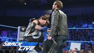 Dean Ambrose comes face-to-face with AJ Styles before Backlash: SmackDown LIVE, Sept. 6, 2016