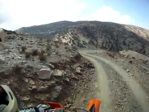 High atlas trail pass, Morocco
