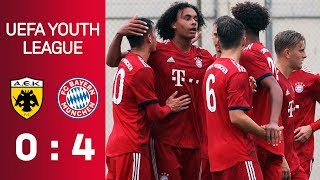 AEK Athens vs. FC Bayern 0-4 | Full Game | U19 UEFA Youth League - Matchday 3