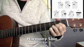How to Play Pink Floyd - Dogs (Chords) : Guitar Lessons in Huntingdonshire