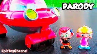 LITTLE EINSTEINS [DISNEY JUNIOR] LEO & ANNIE + PAT PAT ROCKET Jump On Trampoline