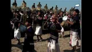 Chong-Kedam : A traditional Karbi Shield & Sword Dance
