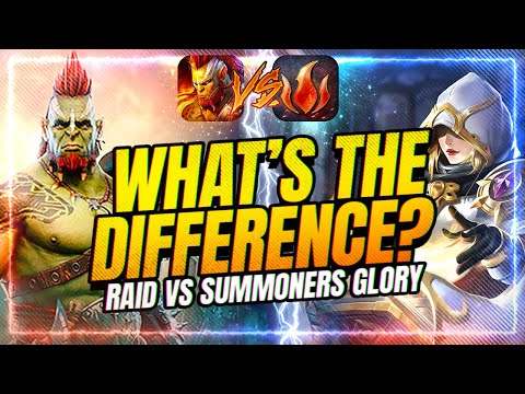 RAID Shadow Legends vs Summoners Glory | Which is Better?