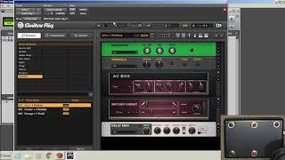 Pro Tools   Usar Footswitch Usb Midi y Controlar Guitar Rig