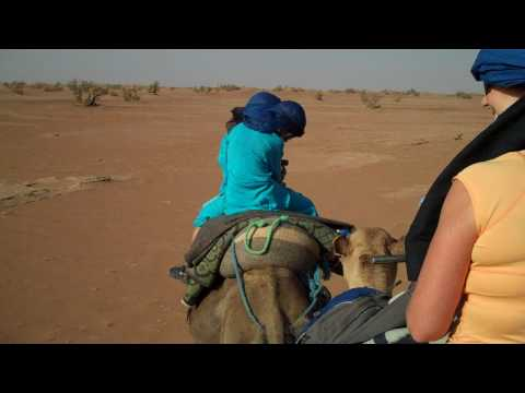 Family Adventure Travel: Wake Up! You're in the Sahara Desert