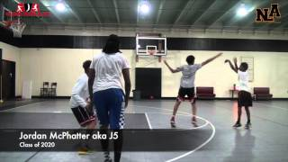 """Pure Results Training: 2's King of the Court! Jordan """"J5"""" McPhatter caughts FIRE"""