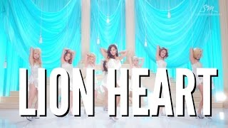GIRLS' GENERATION LION HEART LYRICS |NGOUN|