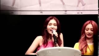 160814 IOI 건대팬사인회 소미캠 (feat. 랩퍼소미)